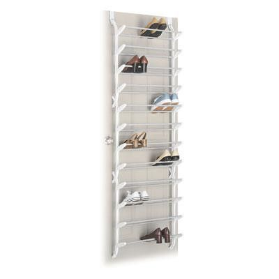 Whitmor Over The Door Shoe Rack 36 Pair Dimensions 7 5 X 22 74 Easy Embly Perfect For Closets Or Anywhere In Home