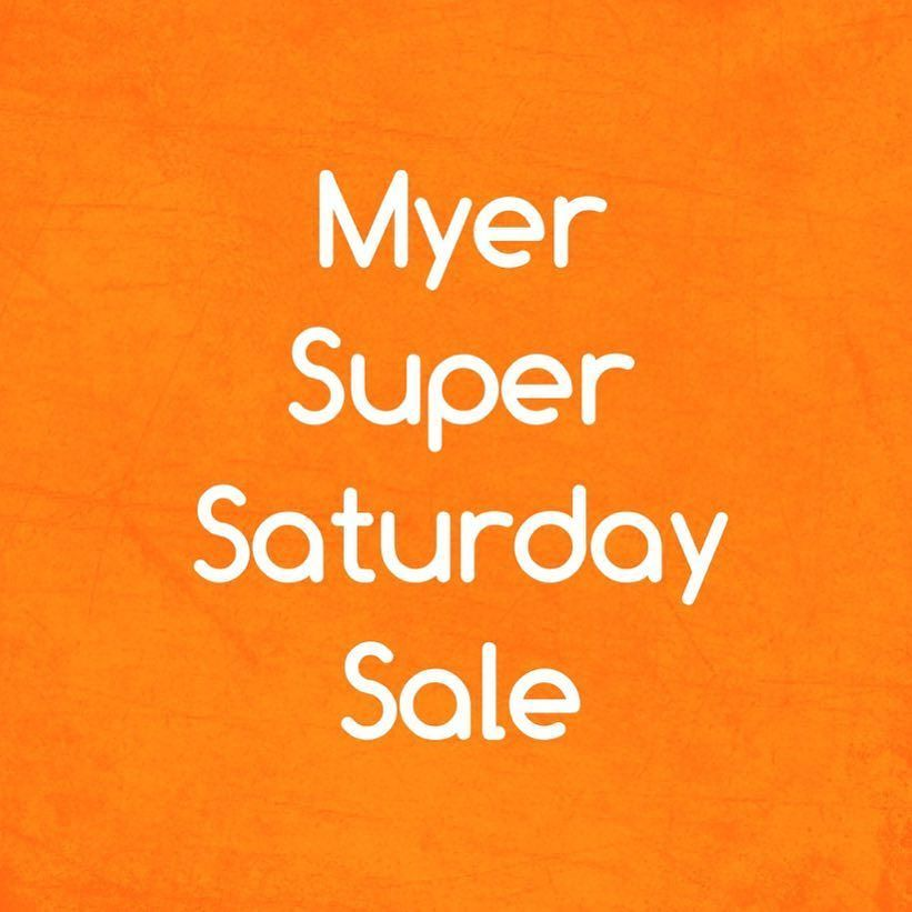 f2d68f54a6ff4 I love #Myer #sales. Tomorrow is