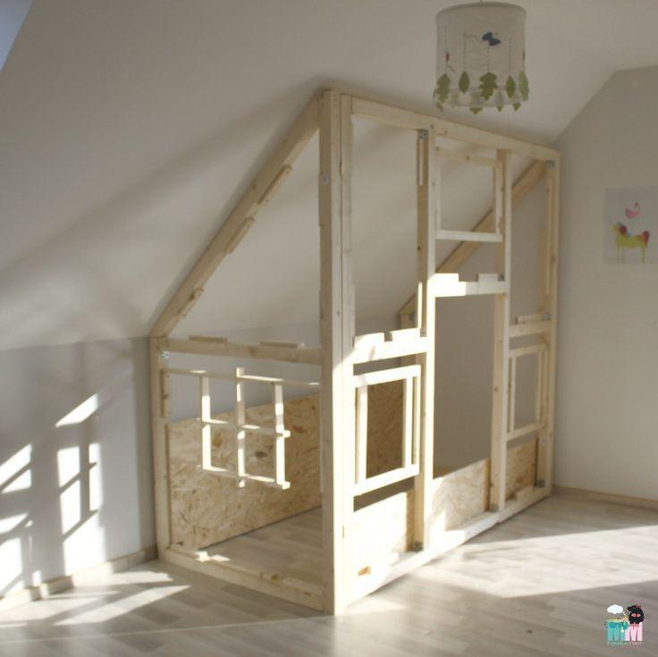 Photo of DIY – Ein Hausbett im Kinderzimmer – #chellisrainbowroom – Metterschling und Maulwurfn