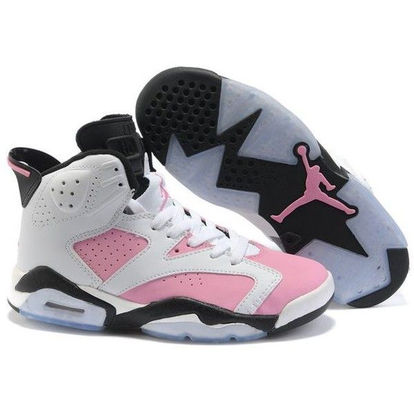 Girl's Air Jordan Shoes ❤ liked on Polyvore featuring shoes