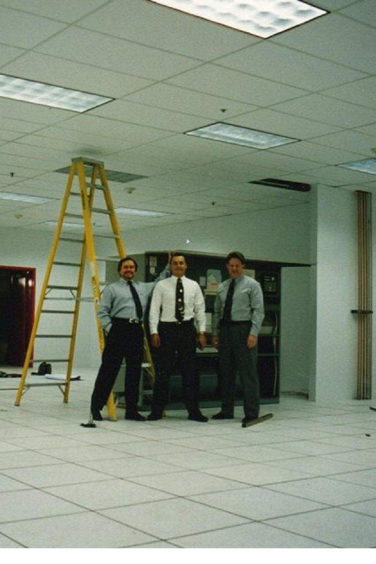 Old School Back The 90 S With A Liebert Install Dpairlife Data Center Solutions School