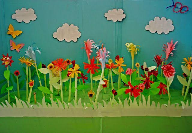 paper garden Craft Crawlers Pinterest Gardens Grow your own