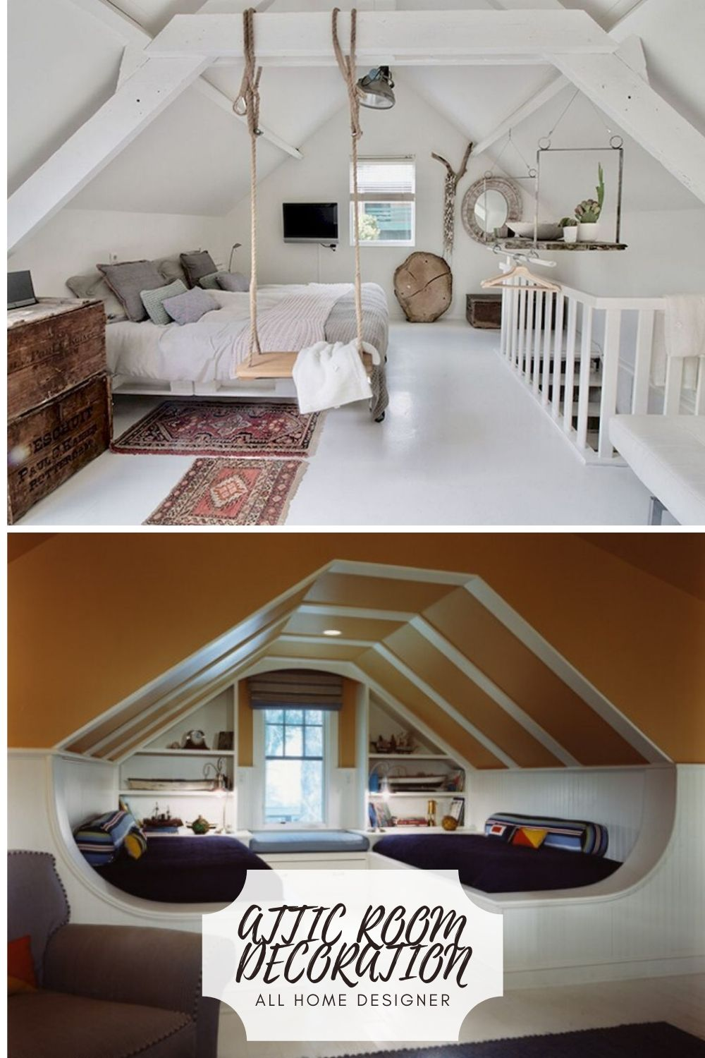 Rooms In Roof Designs: Design Ideas For Your Attic Room In 2020