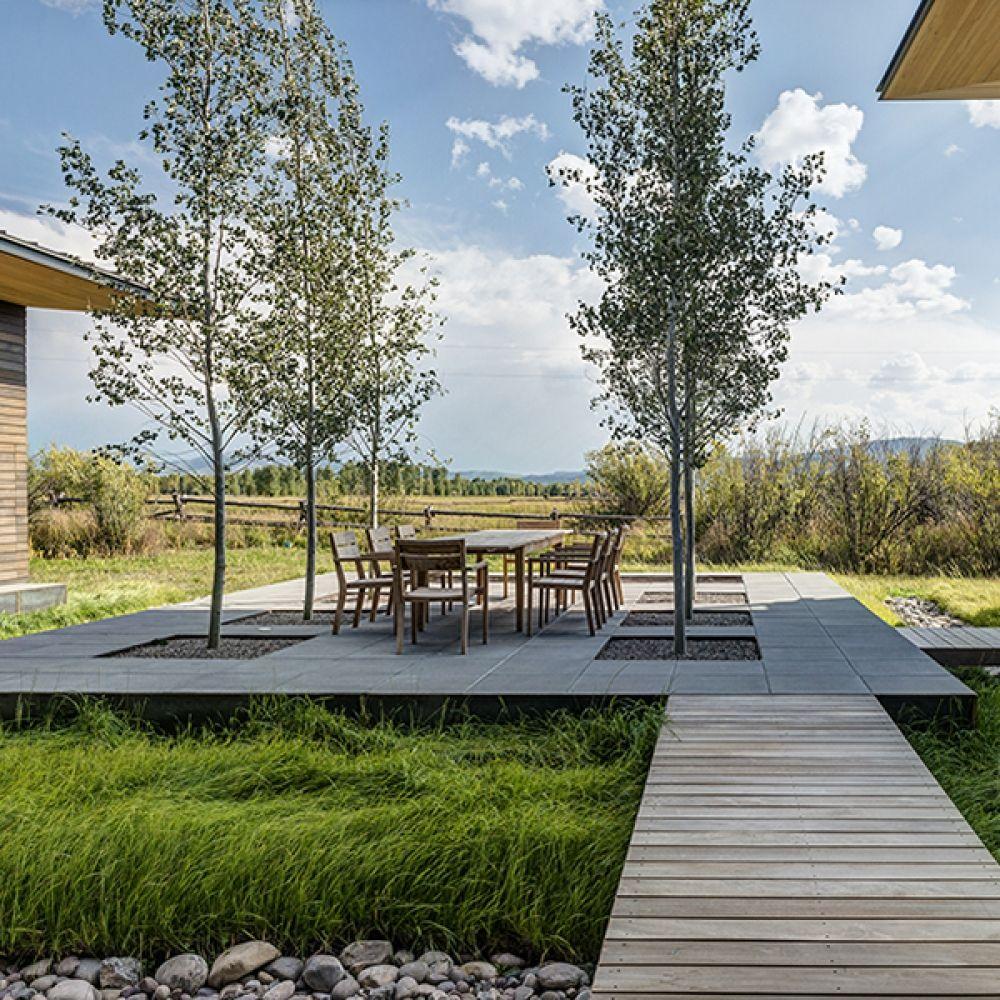 Landscape Design Structure: Shoshone Residence Is A Landscape Design Project By