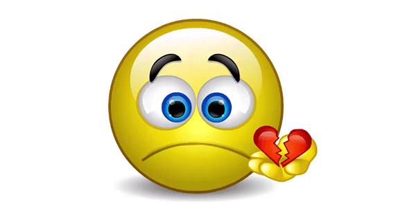 You Broke My Heart - Talking Emoticon