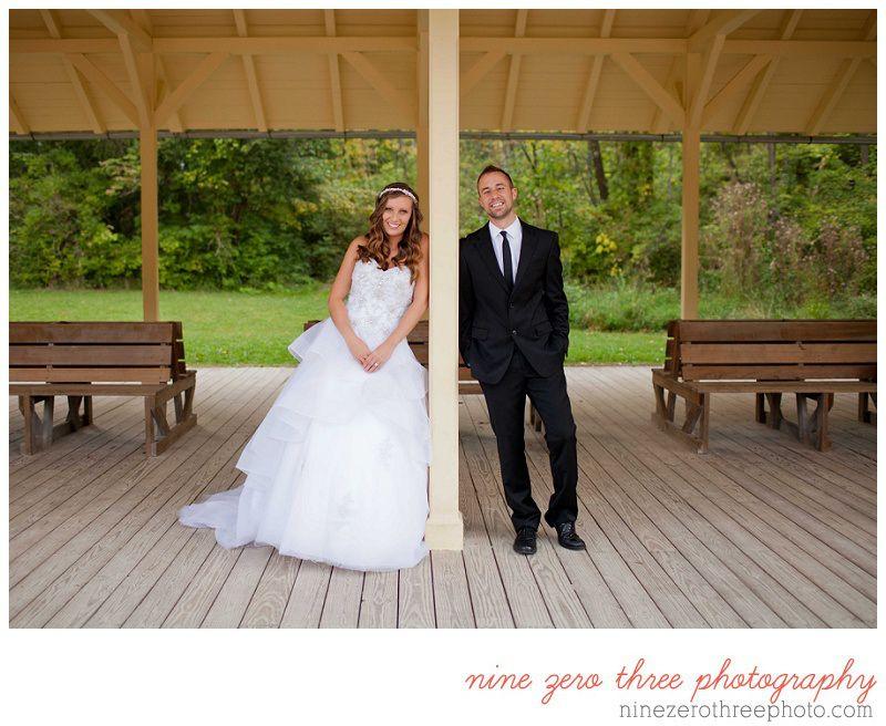 cleveland wedding photographer | bride and groom cute wedding photos