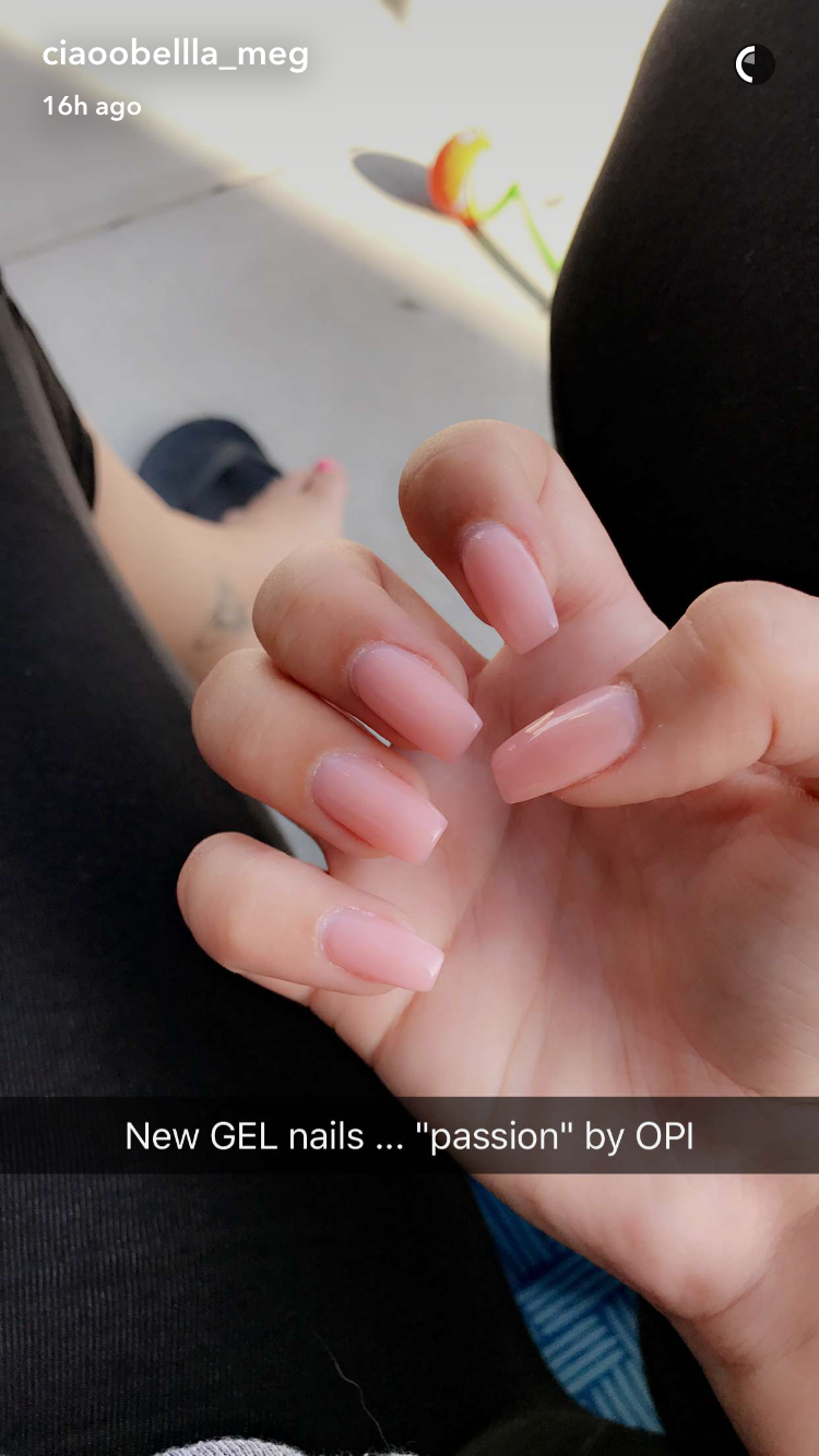 Passion by OPI Ciaobellas nail color | Gel Nails | Pinterest | OPI ...