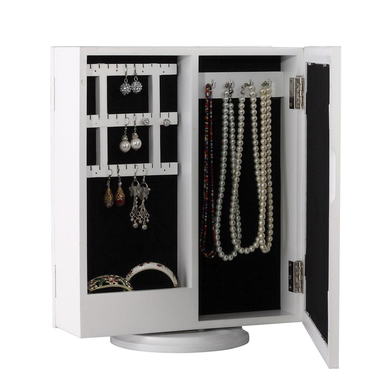 Joyero armario giratorio con espejo regalos Pinterest