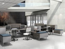 Global Total Office Open Concept Office Furniture