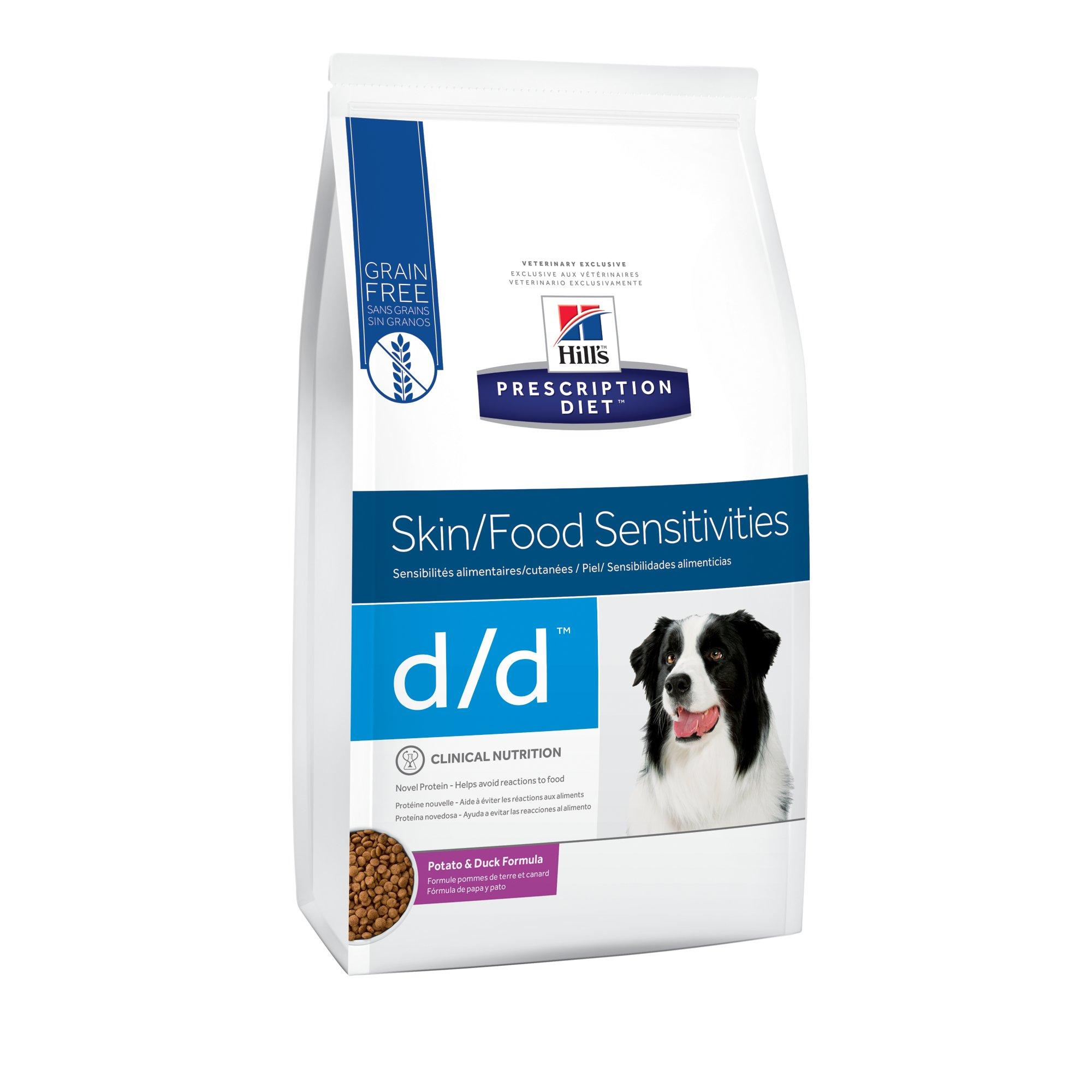 Hill S Prescription Diet D D Skin Food Sensitivities Potato Duck