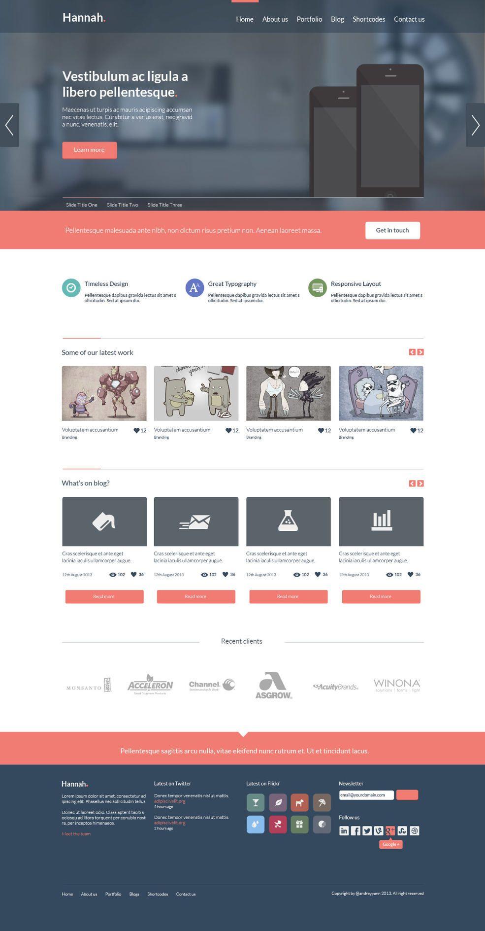 freie webseiten templates - Boat.jeremyeaton.co