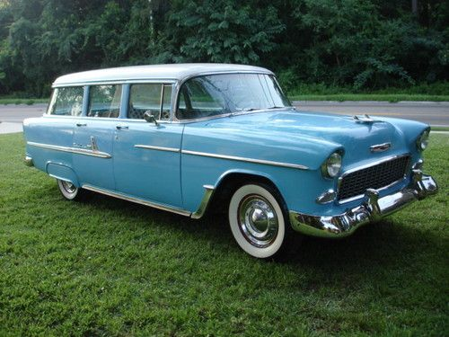 Buy Used 1955 Chevrolet Belair Station Wagon Bel Air In