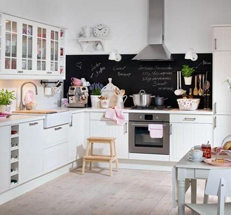 Einrichtungsideen für die Küche - Küchenplanung und Dekoideen - unterschrank küche selber bauen