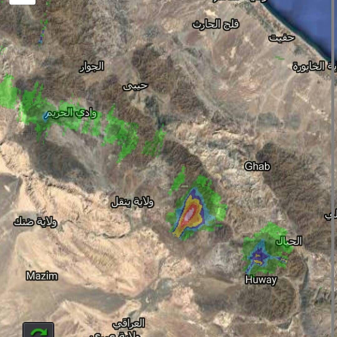 #شبكة_أجواء : #السحب و الخلايا الماطرة الان على #سلطنة_عمان