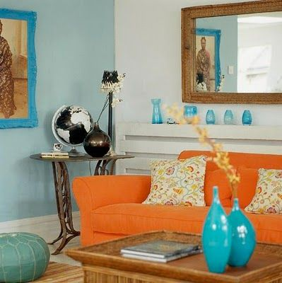 Complementary Colors Interior Design complementary color scheme interior design | interior design blog