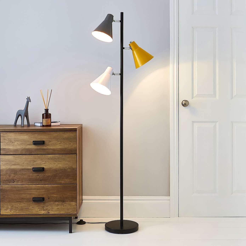 Circus Multi Head Black Floor Lamp Dunelm Lamp Floor Lamp