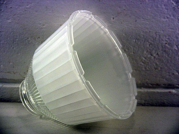 Vintage Torchiere Shade Diffuser Shade Glass Lamp Diffuser