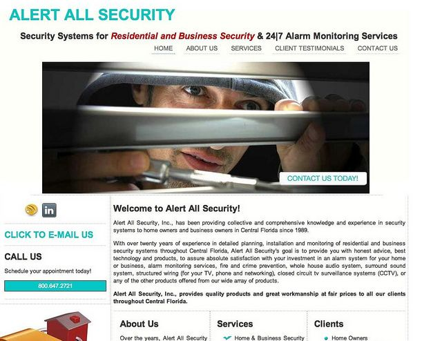 wwwalertallsecurity Alert All Security, Alarm Systems in - sample personal financial statement example