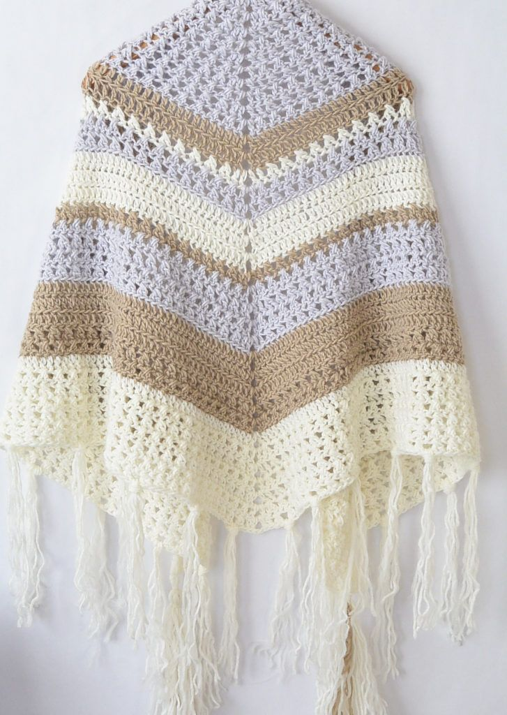 The Dreamer Crocheted Triangle Wrap Pattern