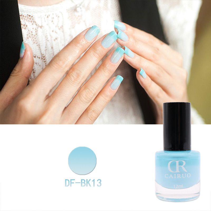 New Professional Thermal 12Ml Color Changing Nail Art Cosmetic Party ...