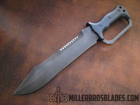 Options available on custom order knives and swords.