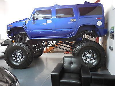 2003 Hummer H2 Custom Professionally Lifted Monster Truck Very Impressive Lifted Trucks Hummer H2 Monster Trucks