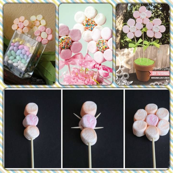 Tutorial albero di Marshmallow - MyKingList.com #marshmallows