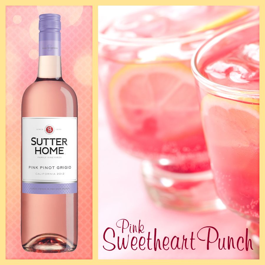 Pink moscato punch recipes for Drinks with pink moscato