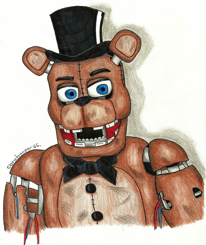 withered Freddy Fazbear by clonetrooper66 deviantart com on
