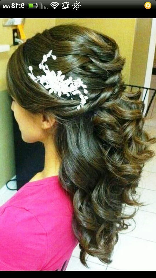 Hairstyles For Quinceaneras Images  Quinceanera Hairstyles With Tiara  Hair Styles  Pinterest