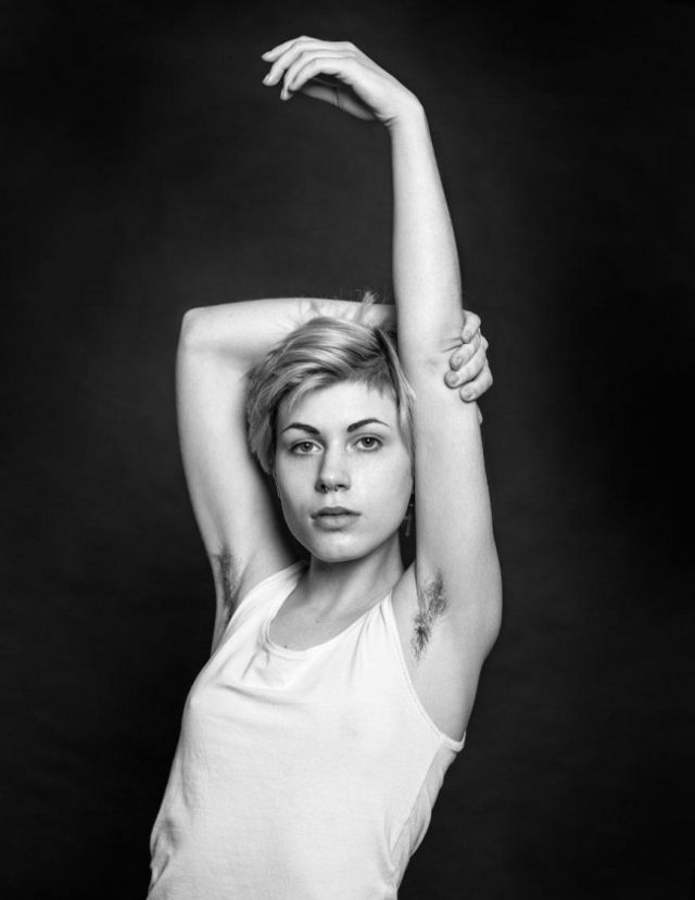 Models Protest Beauty Standards By Growing Fabulous Armpit Hair