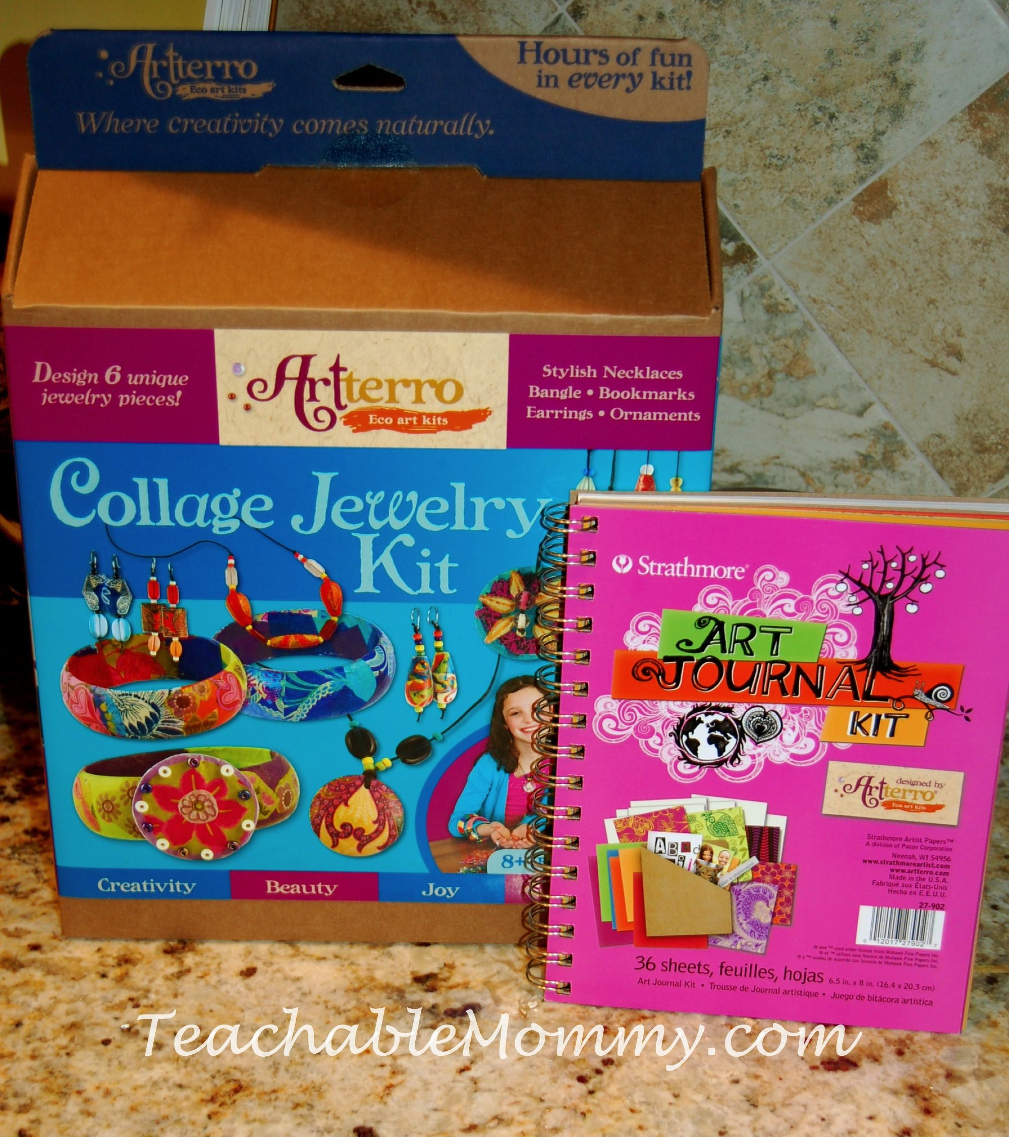 Artterro Eco-Friendly Arts and Crafts Kits for kids,  easy craft projects for kids, gift guide for girls #Giftguide
