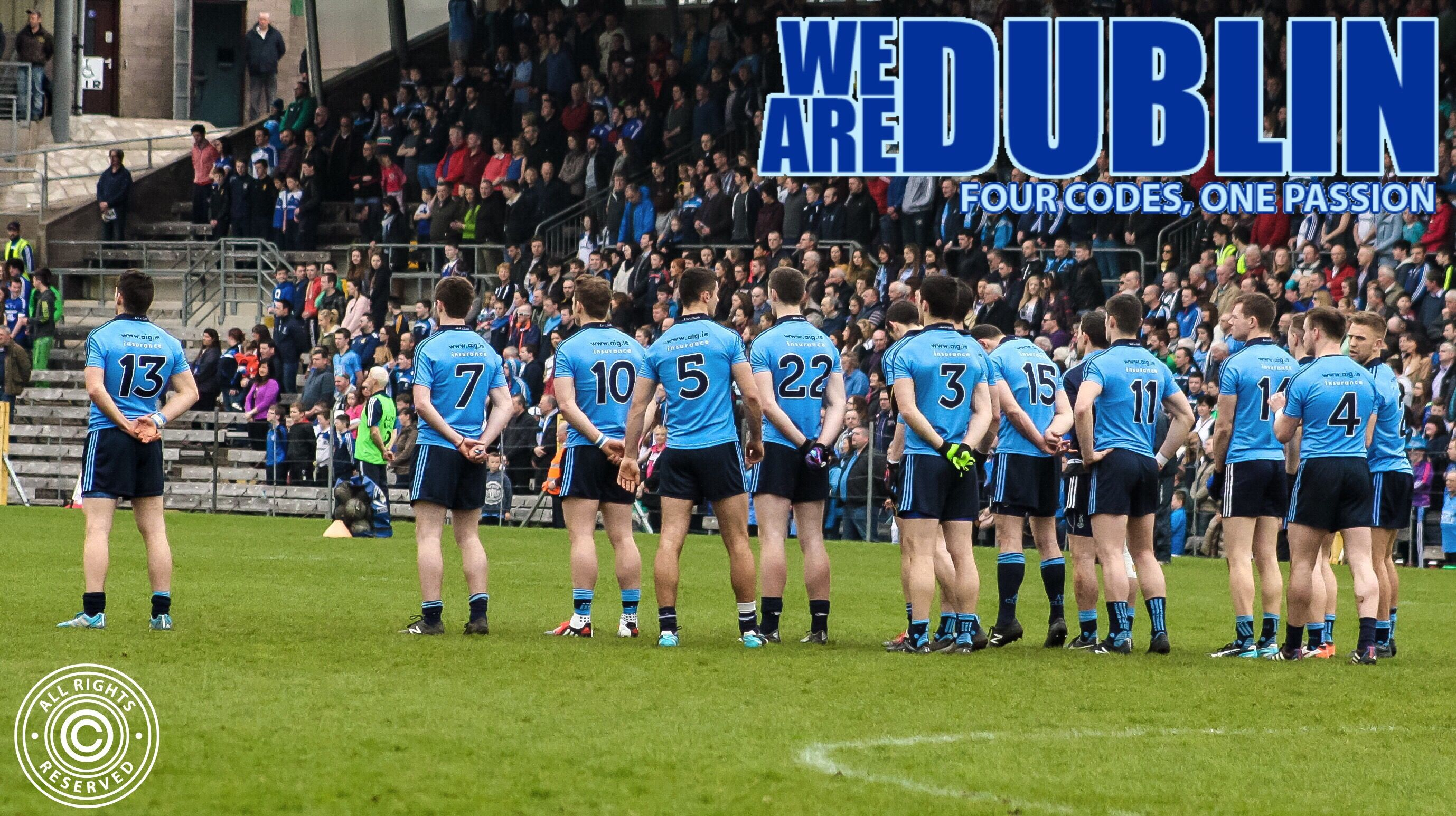 We Are Dublin VOTE FOR OUR DUBLIN NOMINATIONS FOR THE RTÉ