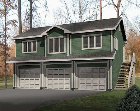 Unique Carriage House Plan SL Carriage Nd Floor Master - House design with garage underneath