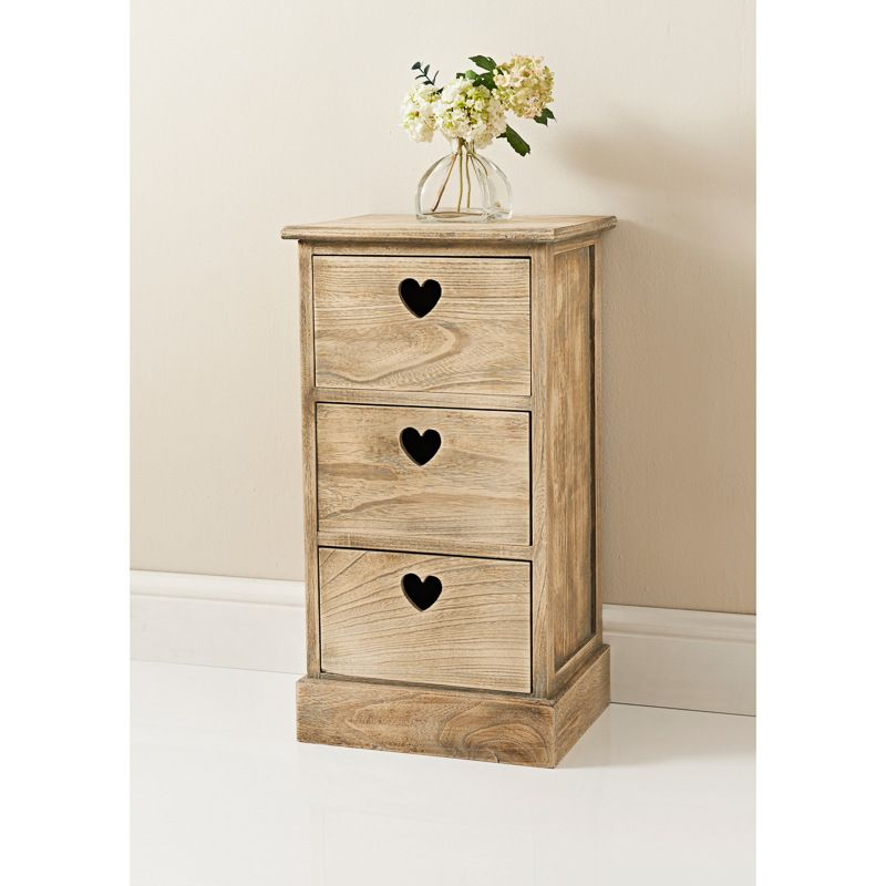 Holly 3 Drawer Chest Unit