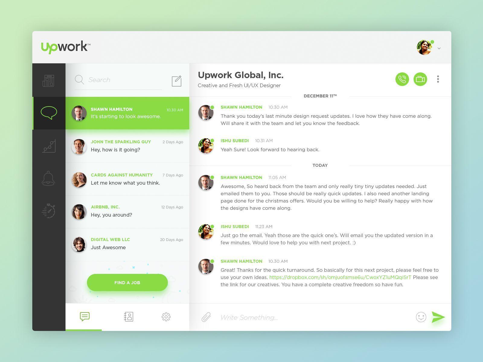 Upwork full view webdesignupwork (With images) Web app