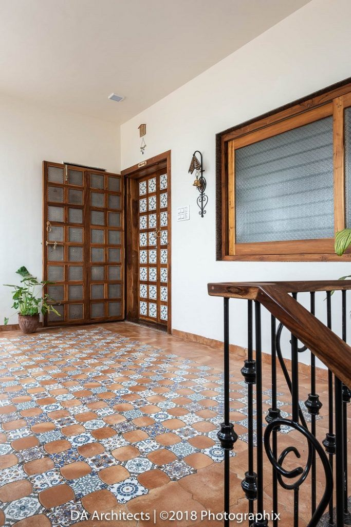 This Mumbai Apartment Is Indian In Spirit And Modern In Outlook Dress Your Home Door Design Interior Indian Interior Design Trendy Interior Design
