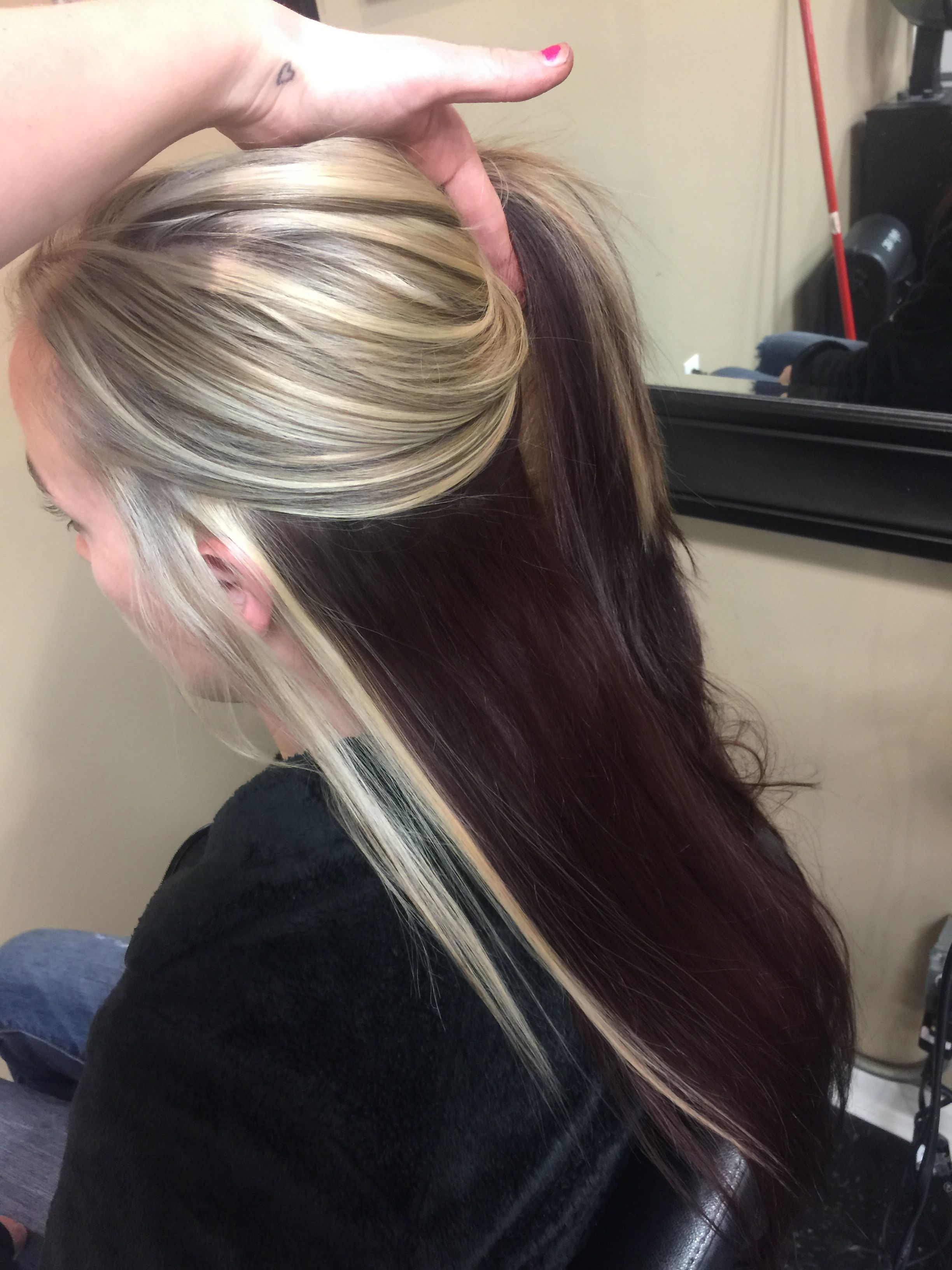 Idea By Morgan Rosado On Morgan Spinnedworks Blonde Hair With