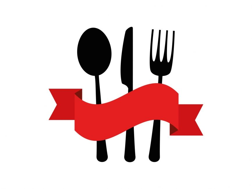 Restaurant vector logo element spoon fork