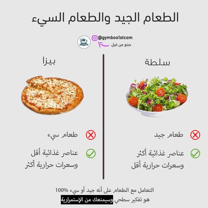 لاوجود لطعام صحي 100 وطعام مضر 100 ــــــــــــــــــــــــــــــــــــــــــــــــــــــــــــــــــــ Health Facts Food Health Food Workout Food