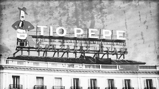 Cartel t o pepe cesar pinterest el sol sol y t as for Cartel tio pepe madrid
