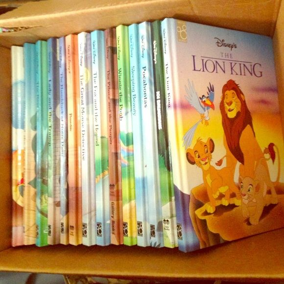 Hard Cover Disney books Set of 14 hard cover story books. Brand new, never read, they have been sitting in my hope chest for almost 20 years. Each book is approx. 100 pages. Excellent gift! Other