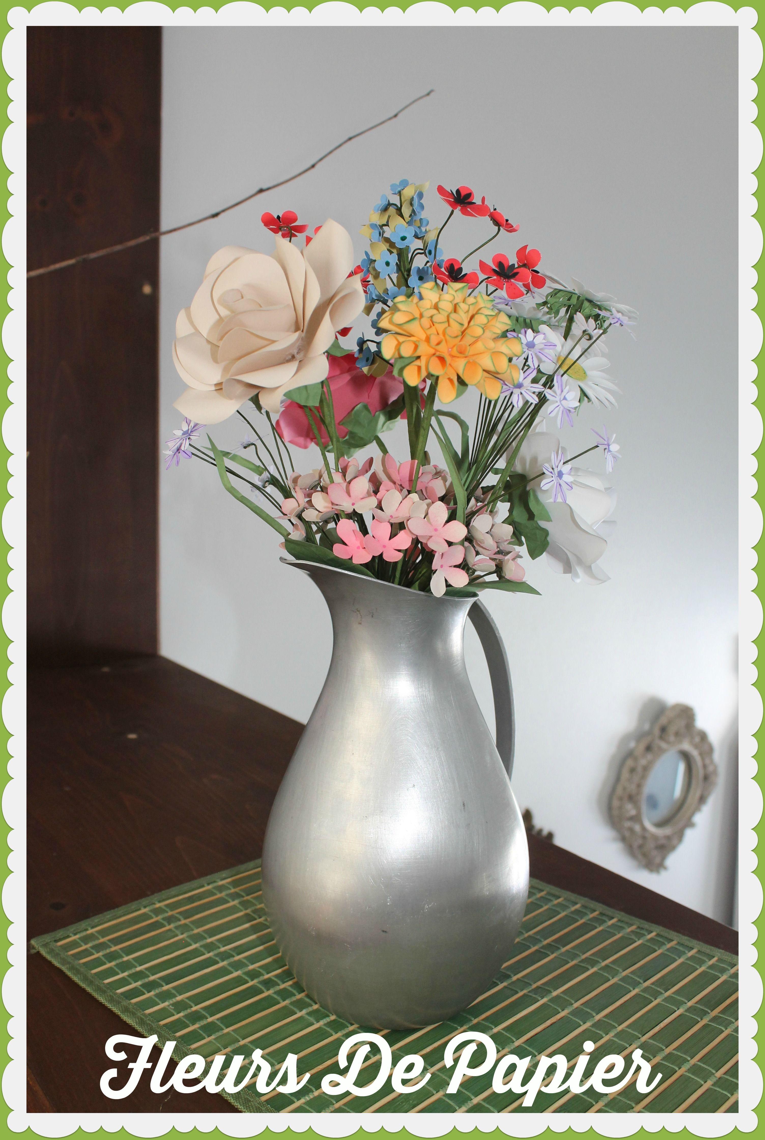 http://on.fb.me/1rgbTNc   Bouquet, Fleurs, Papier