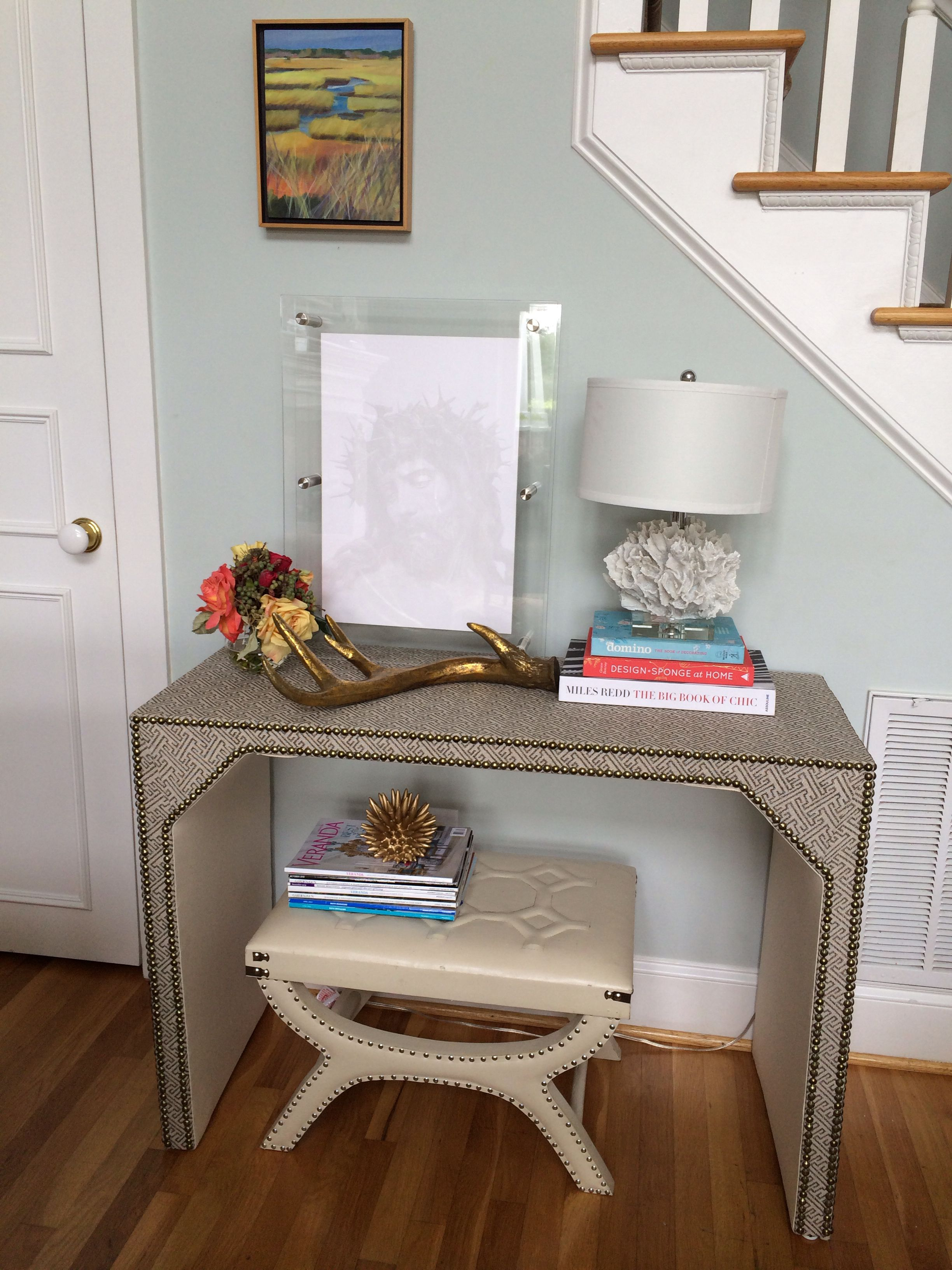 home goods foyer tables