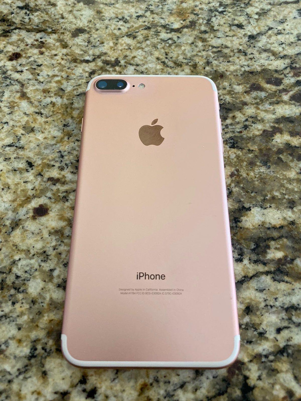 Iphone 7 plus rose gold, Iphone 7 ...