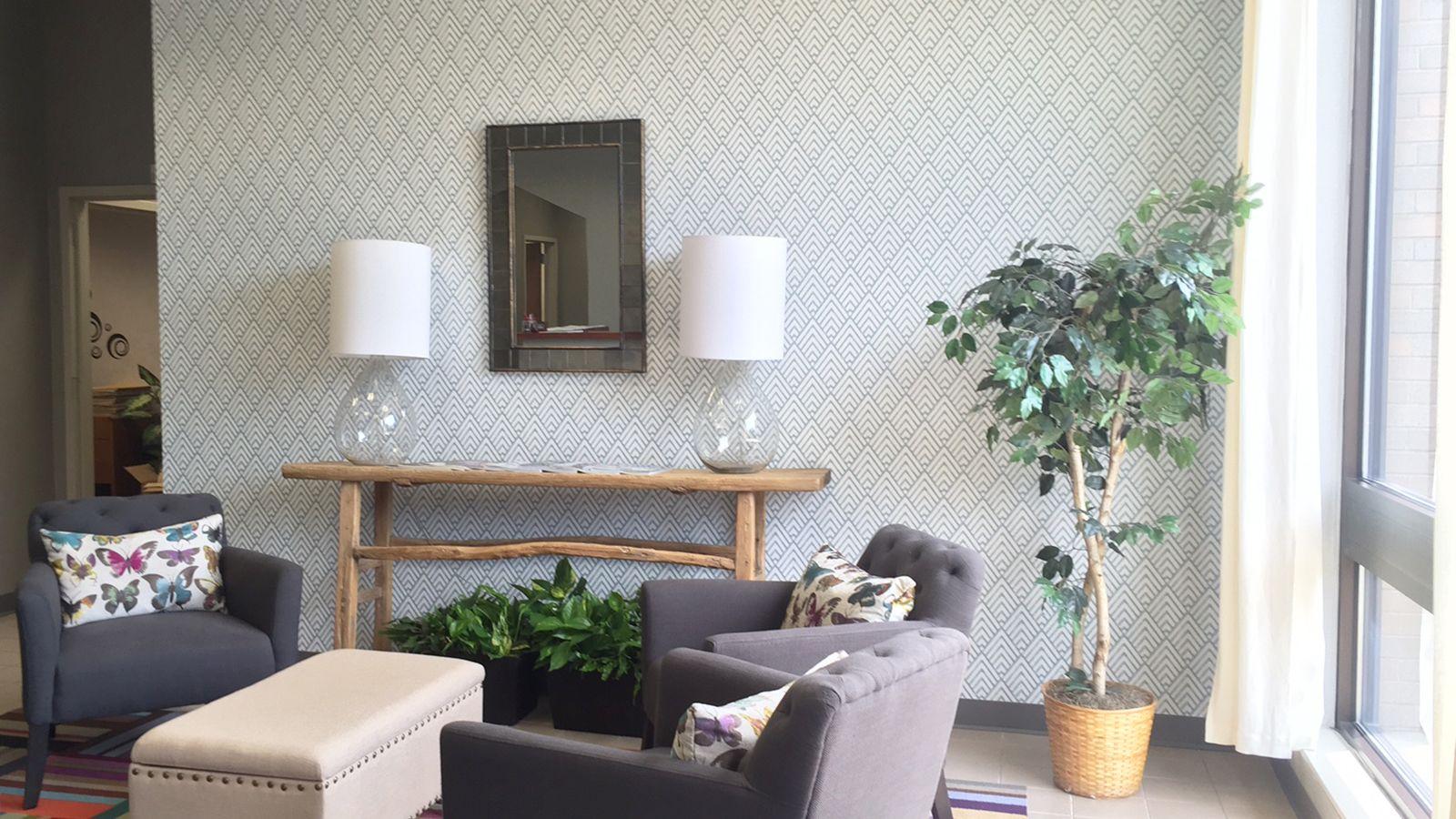 Symetrie fine decor