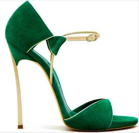 CHRISTIAN LOUBOUTIN Bailarinas verde