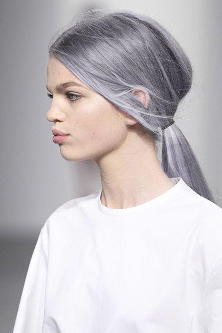 1000 images about couleur pastels on pinterest - Coloration Blond Gris