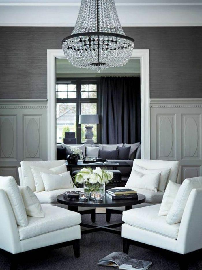 50 wundersch ne interieur ideen mit designer tapeten tapeten. Black Bedroom Furniture Sets. Home Design Ideas