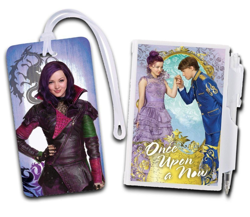Descendants Pocket Locking Notepad and Backpack ID Tag - Mal *** Want additional info? Click on the image. (This is an Amazon Affiliate link and I receive a commission for the sales)